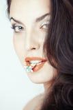 Amo i gioielli Fotografia Stock