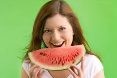 Amo i meloni fotografia stock libera da diritti