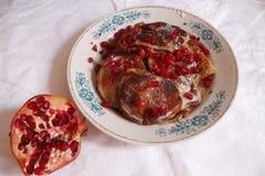 Amo i pancake Immagini Stock