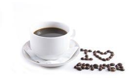Amo il caffè Immagini Stock Libere da Diritti