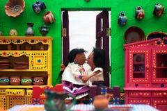Amo il museo del Messico immagini stock