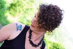 Amo il tatuaggio Immagini Stock Libere da Diritti