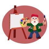 Amo inspirado stock de ilustración