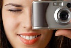 Amo la foto Fotografie Stock