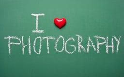 Amo la fotographia Immagine Stock