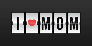 Amo a la mamá Imagen de archivo