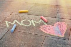 Amo la mamma Fotografie Stock