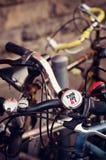 Amo la mia bici Fotografia Stock Libera da Diritti