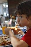 Amo la pizza Fotografia Stock