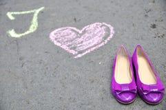 Amo los zapatos 2 Fotografía de archivo libre de regalías