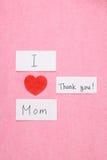 Amo mi concepto de la mamá Imagenes de archivo