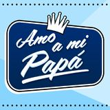 Amo a mi Papa, I Love my Dad Spanish text, vector lettering illustration with background. Amo a mi Papa, I Love my Dad Spanish text, vector lettering vector illustration