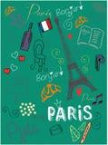 Amo París Fotografía de archivo libre de regalías