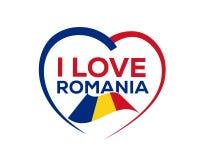 Amo Rumania libre illustration