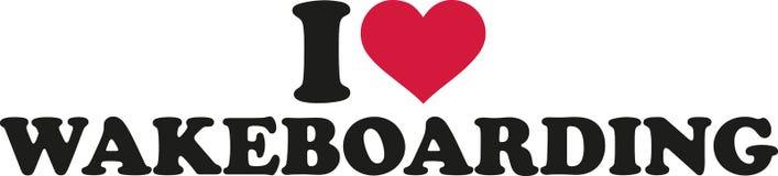 Amo wakeboarding Fotografia Stock