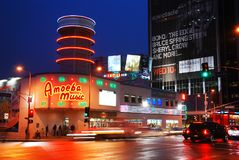 Amoeba Music, Los Angeles Image stock