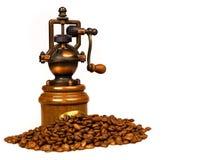 Amoladora de café Fotos de archivo libres de regalías