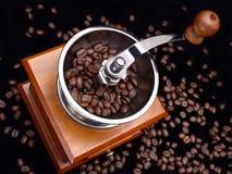 Amoladora de café Foto de archivo