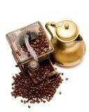Amoladora de café -3- Imágenes de archivo libres de regalías