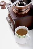 Amoladora de café Imagen de archivo libre de regalías
