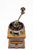 Amoladora de café imágenes de archivo libres de regalías