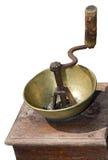 Amoladora de café vieja imágenes de archivo libres de regalías