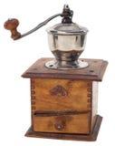 Amoladora de café vieja Imagen de archivo libre de regalías