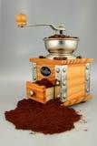 Amoladora de Coffe Fotos de archivo