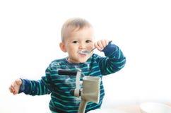 Amoladora del azúcar del bebé Imagenes de archivo