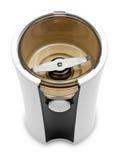 Amoladora eléctrica para el café o las especias Imagen de archivo