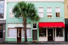 Amole a barra da secagem, Charleston, SC Fotos de Stock