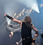 Amon Amarth live in Hellfest 2016. Amon Amarth is a Swedish melodic death metal band from Tumba, formed in 1992. The band takes its name from the Sindarin name Stock Images