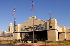 Amon G Carter Jr Objets exposés hall - valeur de pi, le Texas Image stock