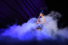 "Amongst White Clouds-Dance drama ""The Dream of Maritime Silk Road"" Stock Photos"