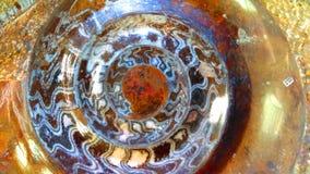 Amonita Gemstone tło Zdjęcie Stock