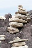 Amontonamiento de la roca Imágenes de archivo libres de regalías