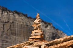 Amontonamiento de la roca fotografía de archivo libre de regalías