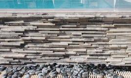Amontonamiento linear del mármol Fotografía de archivo libre de regalías