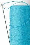 Amorçage bleu avec le pointeau Images stock