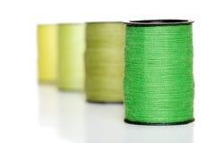 Amorçage de couture vert Images libres de droits