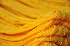 Amorçage de jaunes d'oeuf d'or, nourriture thaïe Image stock