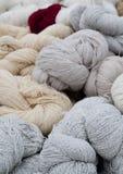 Amorçage de laine Photo libre de droits