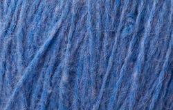 amorçage de laine bleu-foncé Photos libres de droits