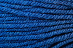 amorçage de laine bleu-foncé comme fond Images stock