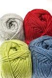 Amorçage de laine - filé Photos libres de droits