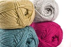 Amorçage de laine - filé Image stock