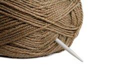 Amorçage de laines Photo stock