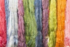 Amorçage en soie coloré Images stock