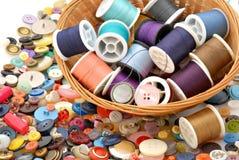Amorçage et boutons Photographie stock libre de droits