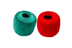 Amorçage vert et rouge Photographie stock